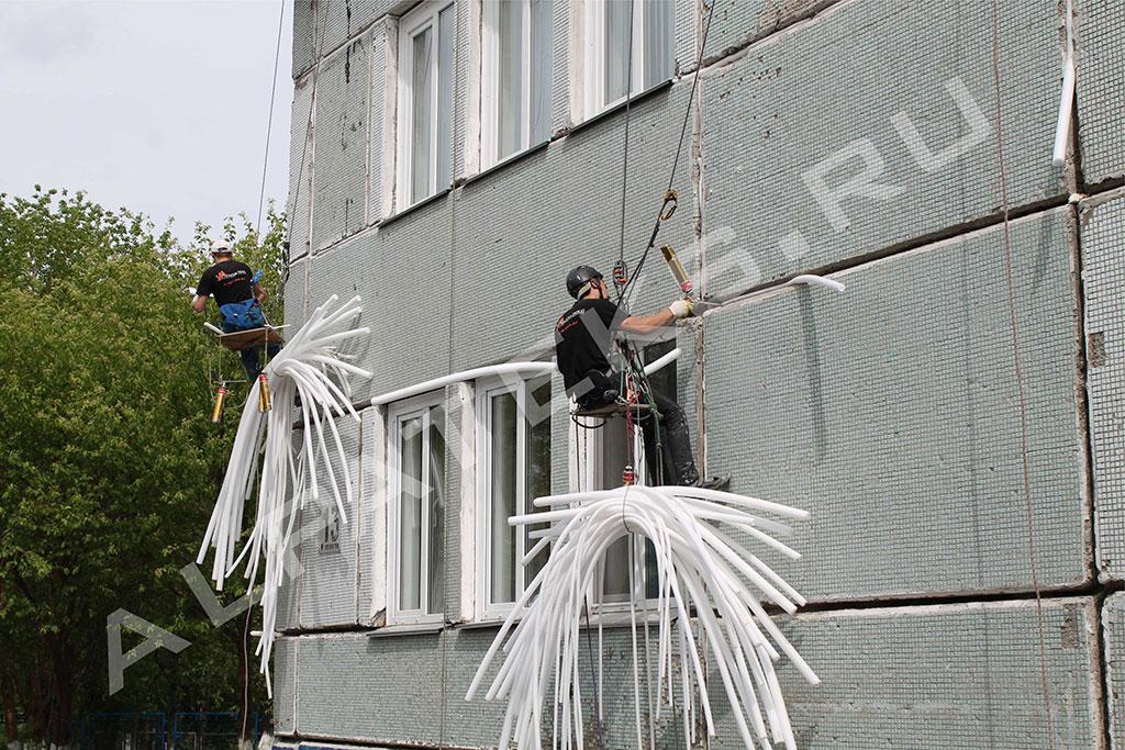 Шпаклевка для заделки швов пластиковых окон